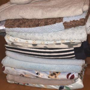 Baby boy fleece blankets